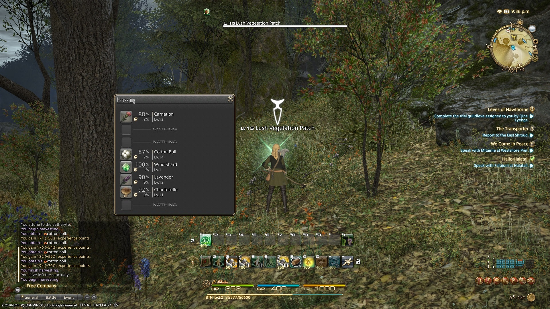 Final Fantasy 14: Stormblood' Gathering Classes: How to play as the