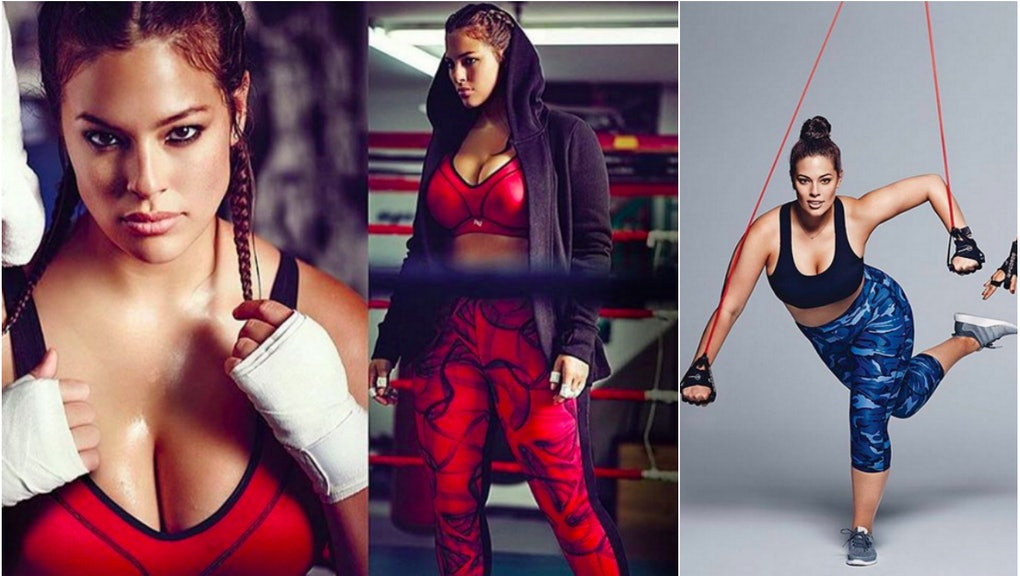 Ashley Graham Wants You to Know That Curvy Girls Work Out