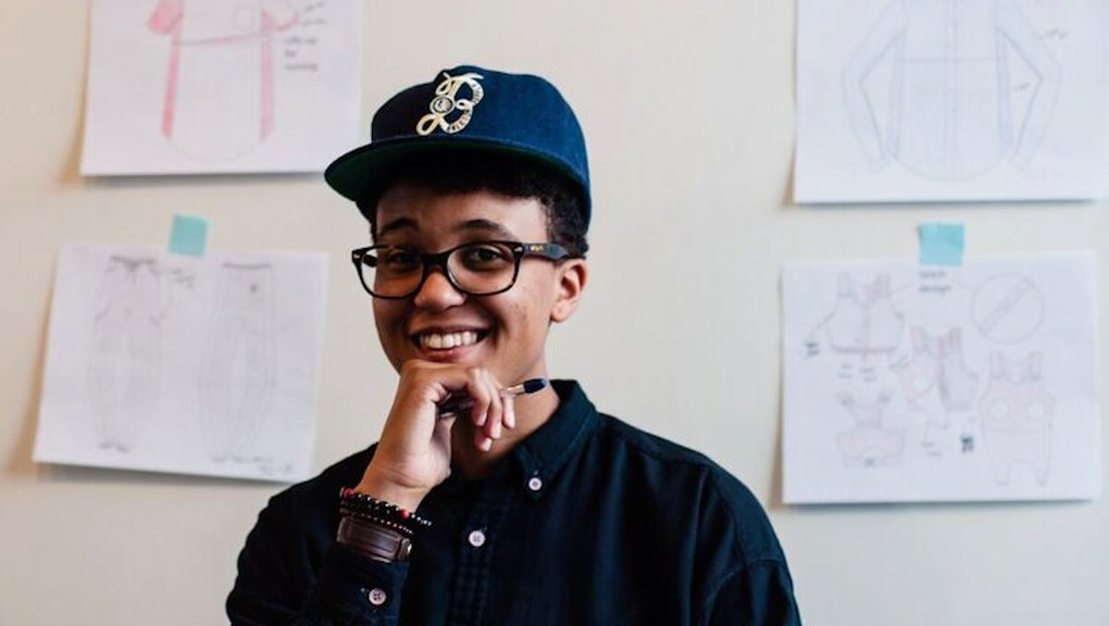 d742ad2e90aac Meet the Designer Creating the First 'Alternity' Maternity Line for  Genderqueer Parents
