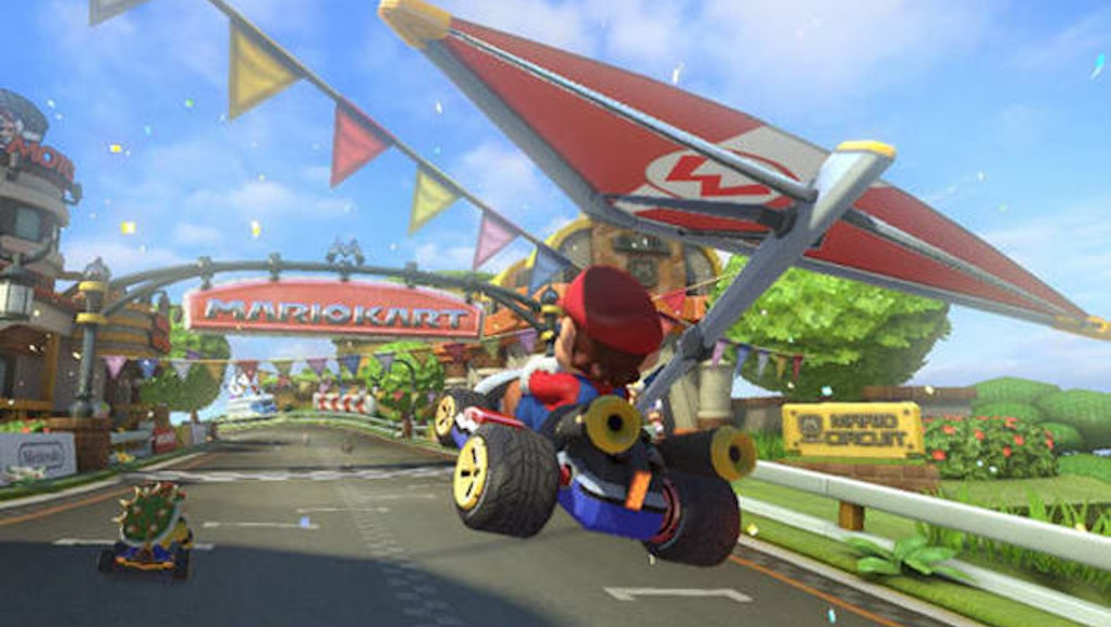 Mario Kart 8 Deluxe Gliding Control Tips How To Soar