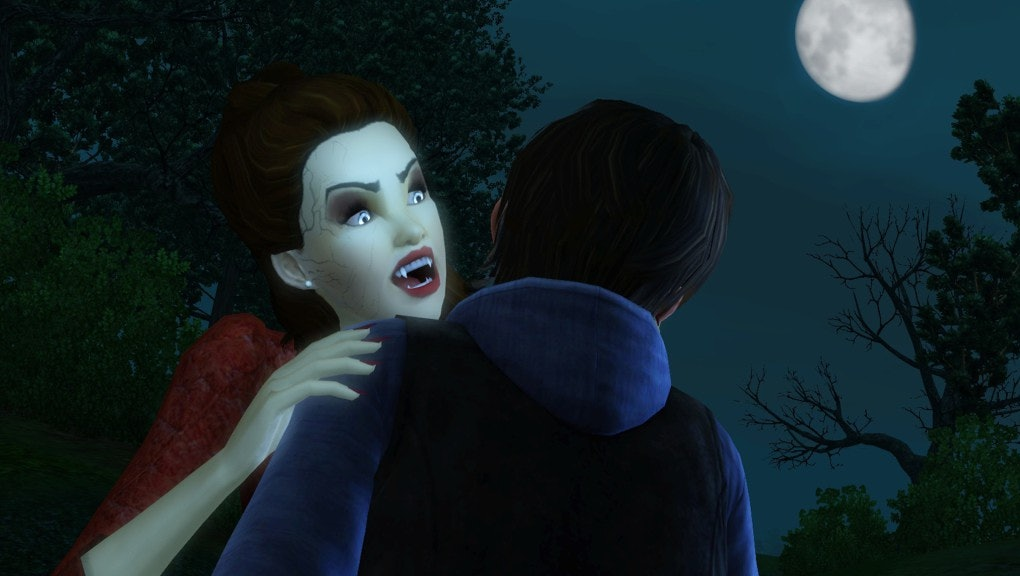 How to make a vampire in 'Sims 4' with the new Vampires