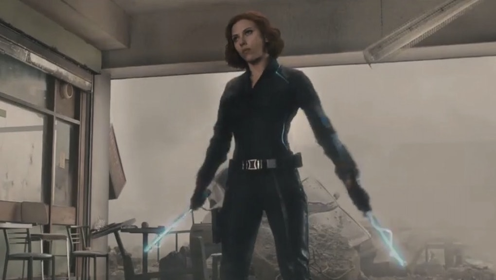 Watch Black Widow Kick Some Ass in the New 'Avengers: Age of