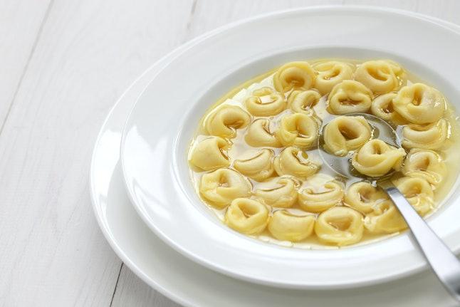 Tortellini en brodo, very Italian