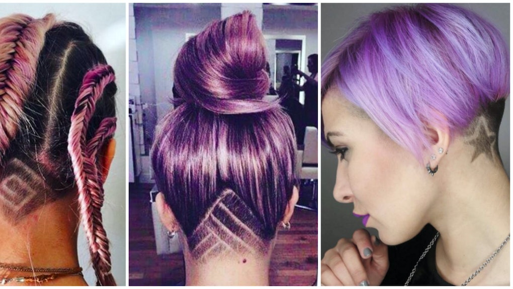 Hair Tattoos Are The Latest Undercut Iteration For The Indie Girl