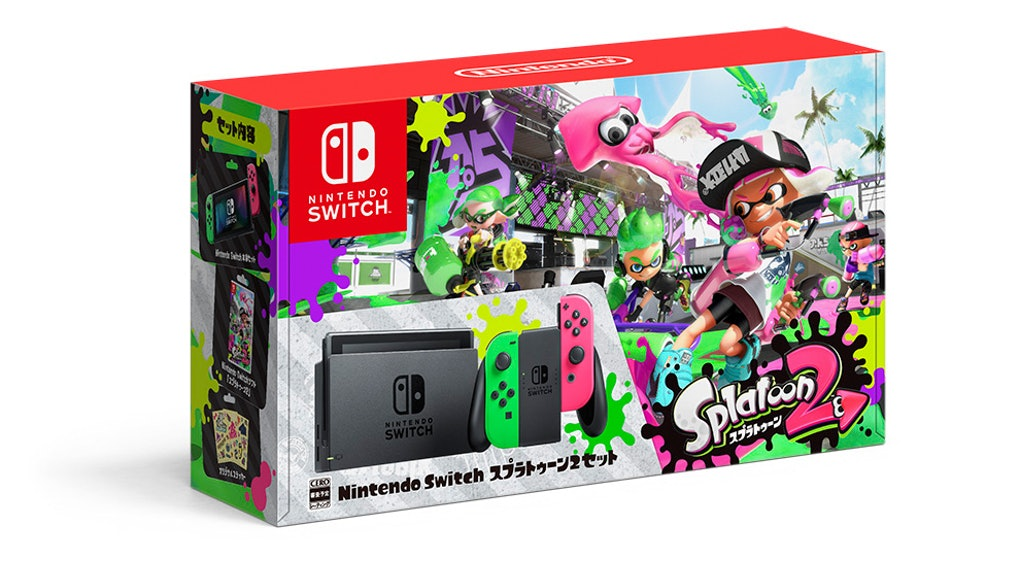 Nintendo hopes you'll spend $5 on a 'Splatoon 2'-themed cardboard box