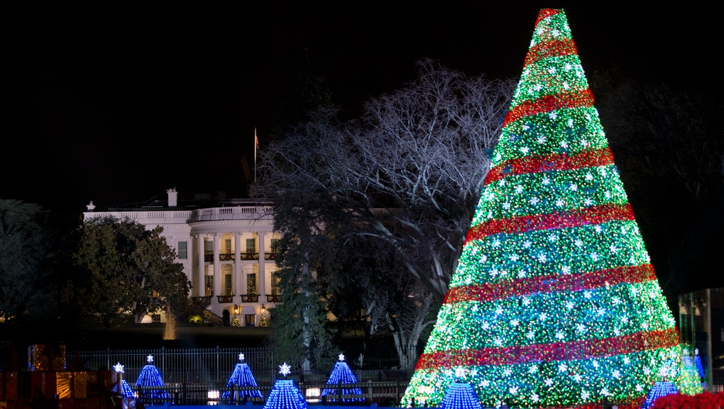 White House National Christmas Tree Lighting 2015 Time Performers