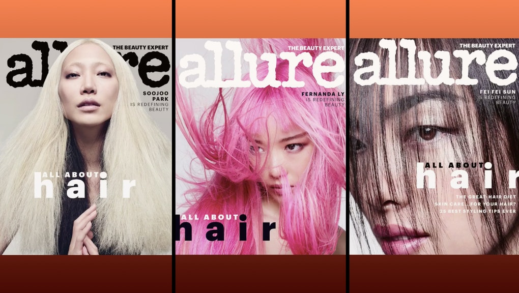With its June issue, 'Allure' has more than doubled the number of ...