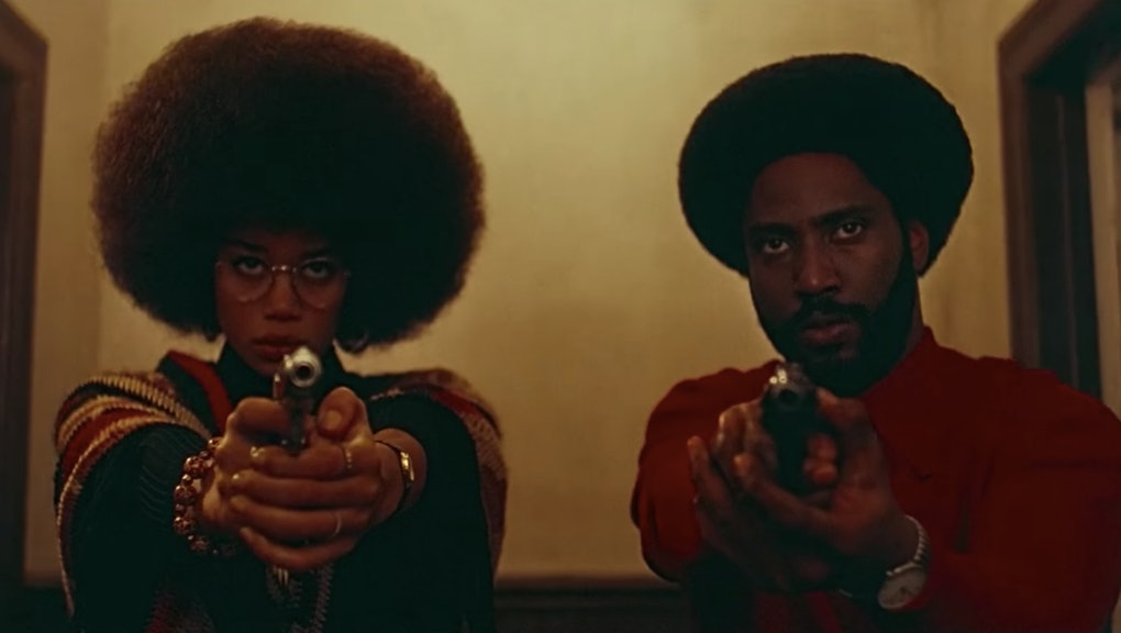 The 'BlacKkKlansman' finale is the most powerful movie