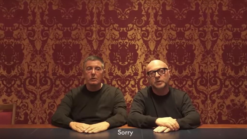 467b42e38495 The rapid and inevitable undoing of Dolce & Gabbana