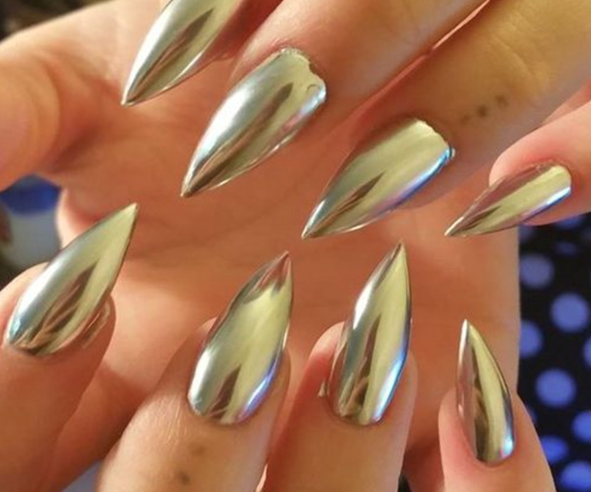 Hot For 2017: Chrome Nails Predicted To Be Biggest Trend Of Next Year