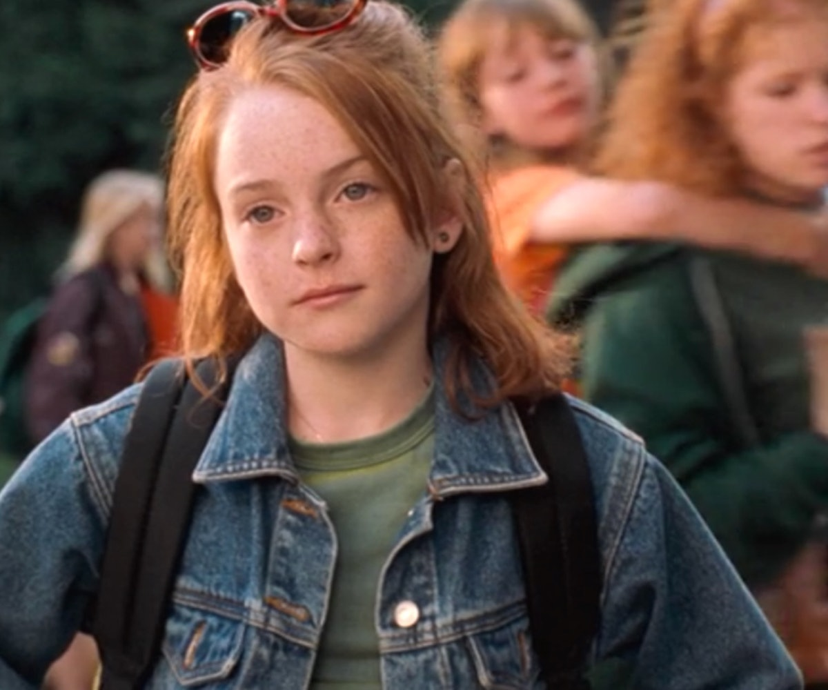 Watch Lindsay Lohan Recreate Her Role In 'The Parent Trap'