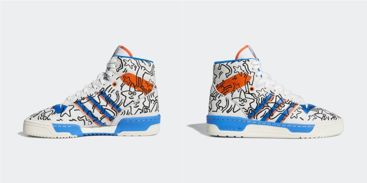 Keith Haring On Sneakers