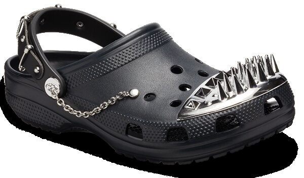 Crocs Are Going Goth With A New Barneys