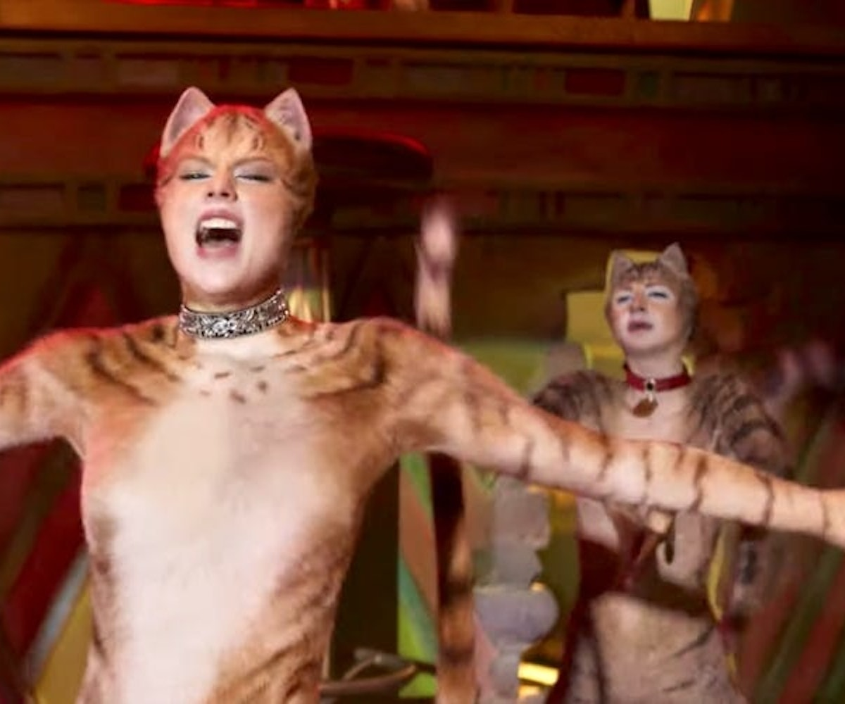 Taylor Swift in the movie 'CATS'