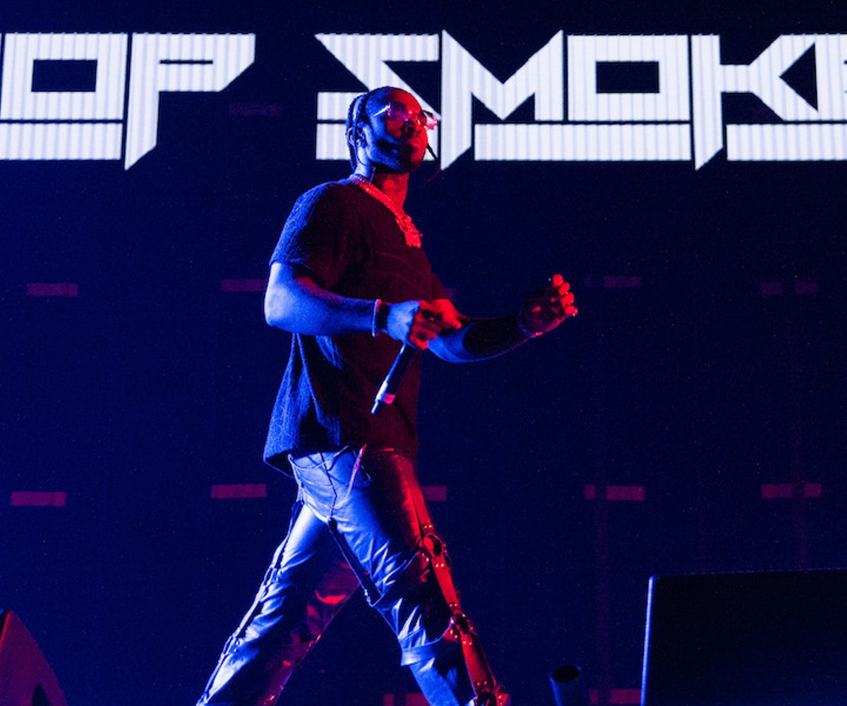 Pop Smoke performs at Olympia London on November 29, 2019 in London, England.