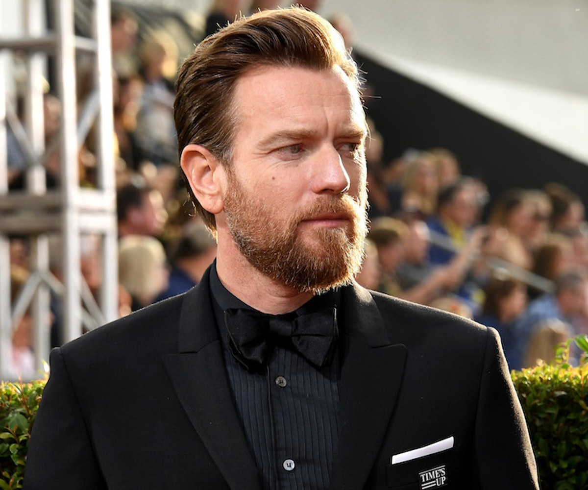 Actor Ewan McGregor arrives to the 75th Annual Golden Globe Awards held at the Beverly Hilton Hotel on January 7, 2018.