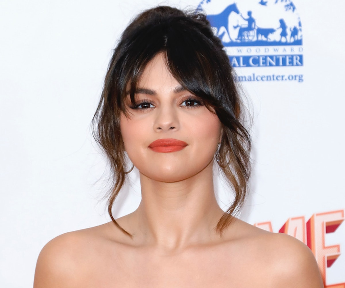 Selena Gomez attends the 2020 Hollywood Beauty Awards at The Taglyan Complex on February 06, 2020 in...
