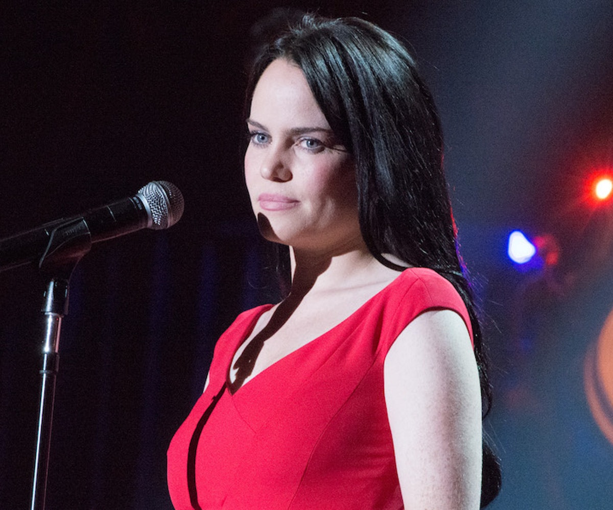 Duffy performs during Francofolies New York: A Tribute To Edith Piaf at Beacon Theatre on September ...