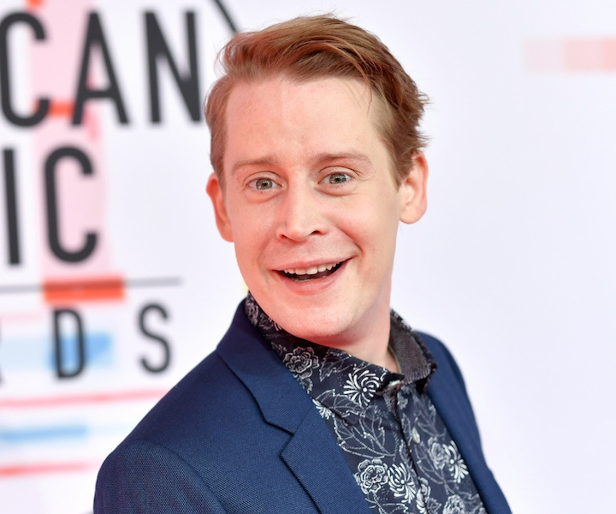 Macaulay Culkin attends the 2018 American Music Awards at Microsoft Theater on October 9, 2018 in Lo...