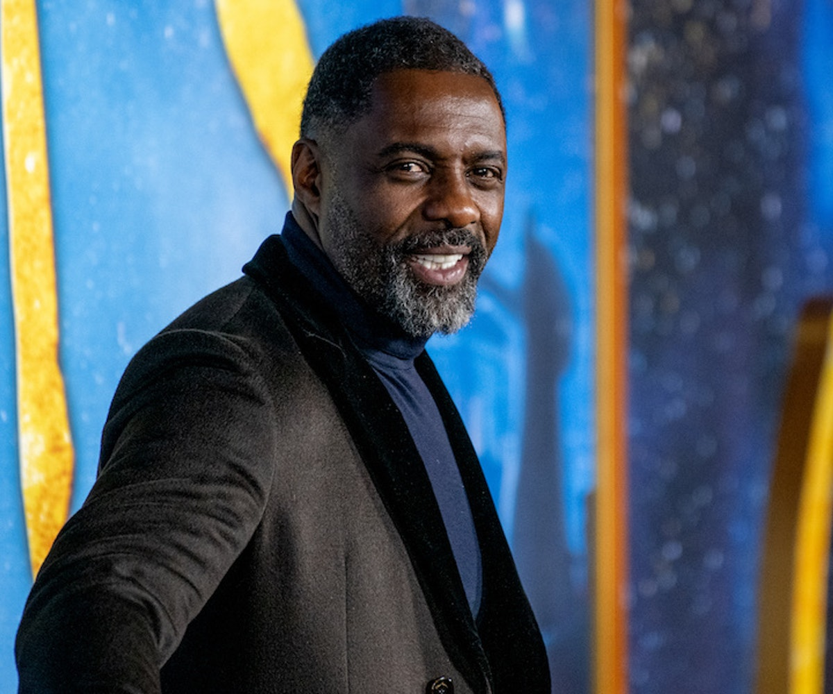 """Idris Elba attends the """"Cats"""" World Premiere at Alice Tully Hall, Lincoln Center on December 16, 201..."""