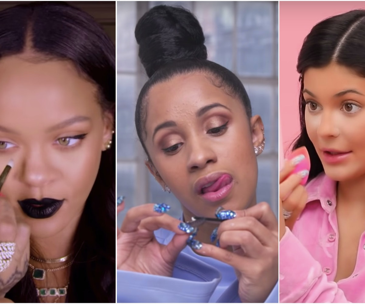 17 Celebrity Makeup Tutorials To Watch