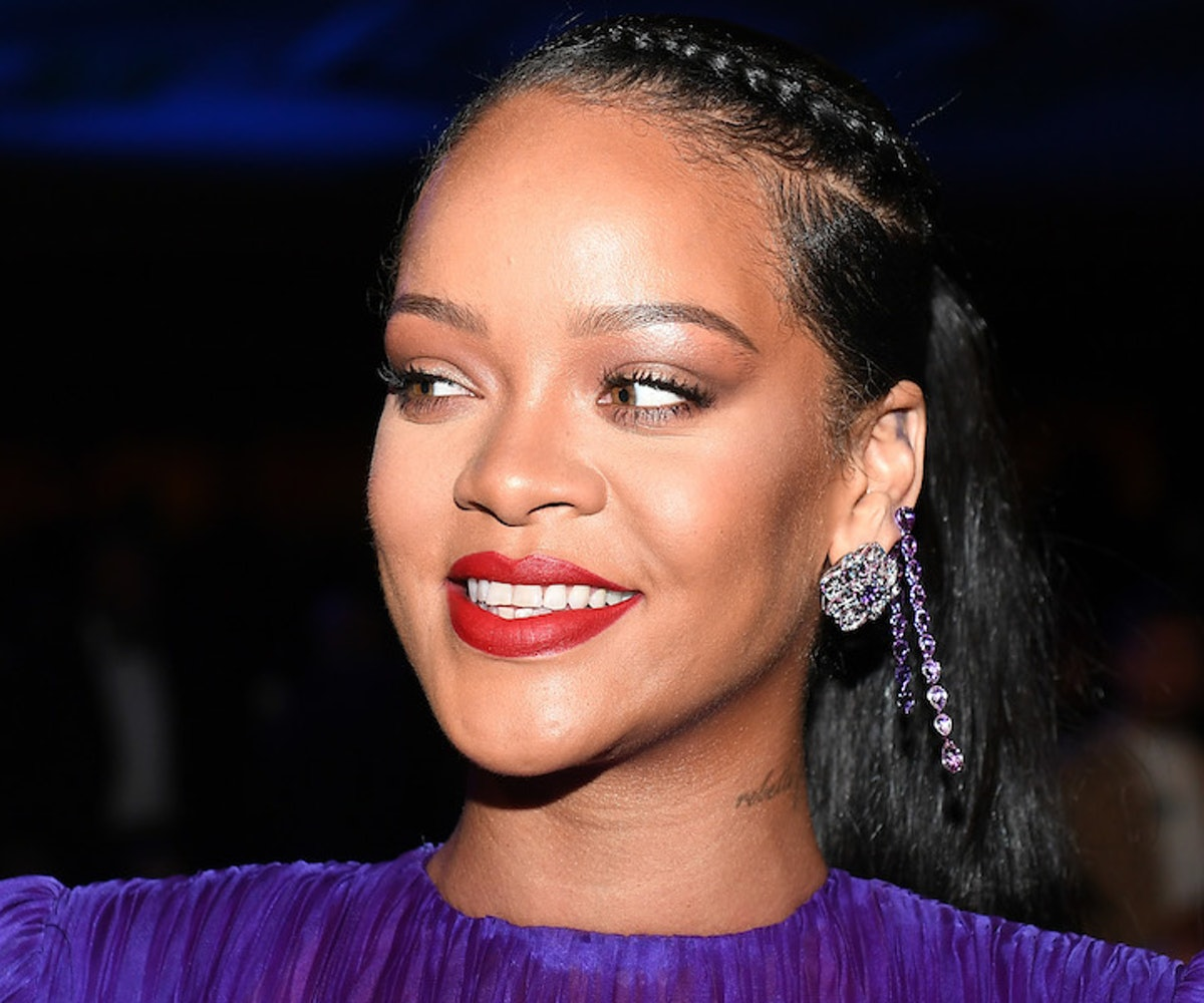 Rihanna attends the 51st NAACP Image Awards, Presented by BET, at Pasadena Civic Auditorium on February 22, 2020 in Pasadena, California