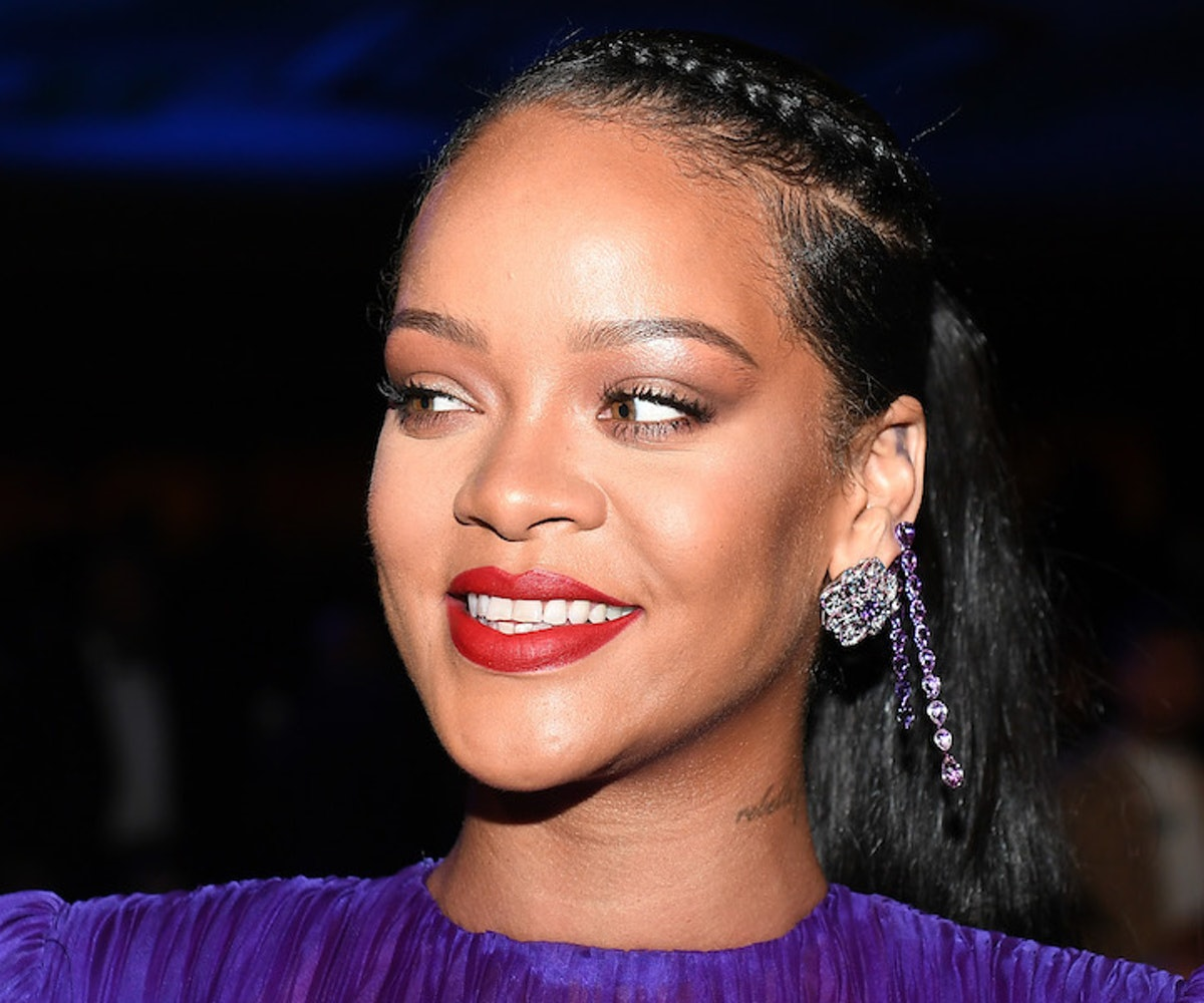 Rihanna attends the 51st NAACP Image Awards, Presented by BET, at Pasadena Civic Auditorium on February 22, 2020 in Pasadena, California.