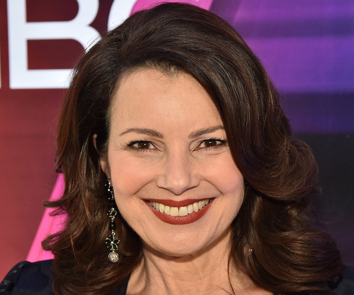 """Fran Drescher from """"Indebted"""" attends the NBC Midseason New York Press Junket at Four Seasons Hotel New York on January 23, 2020 in New York City."""