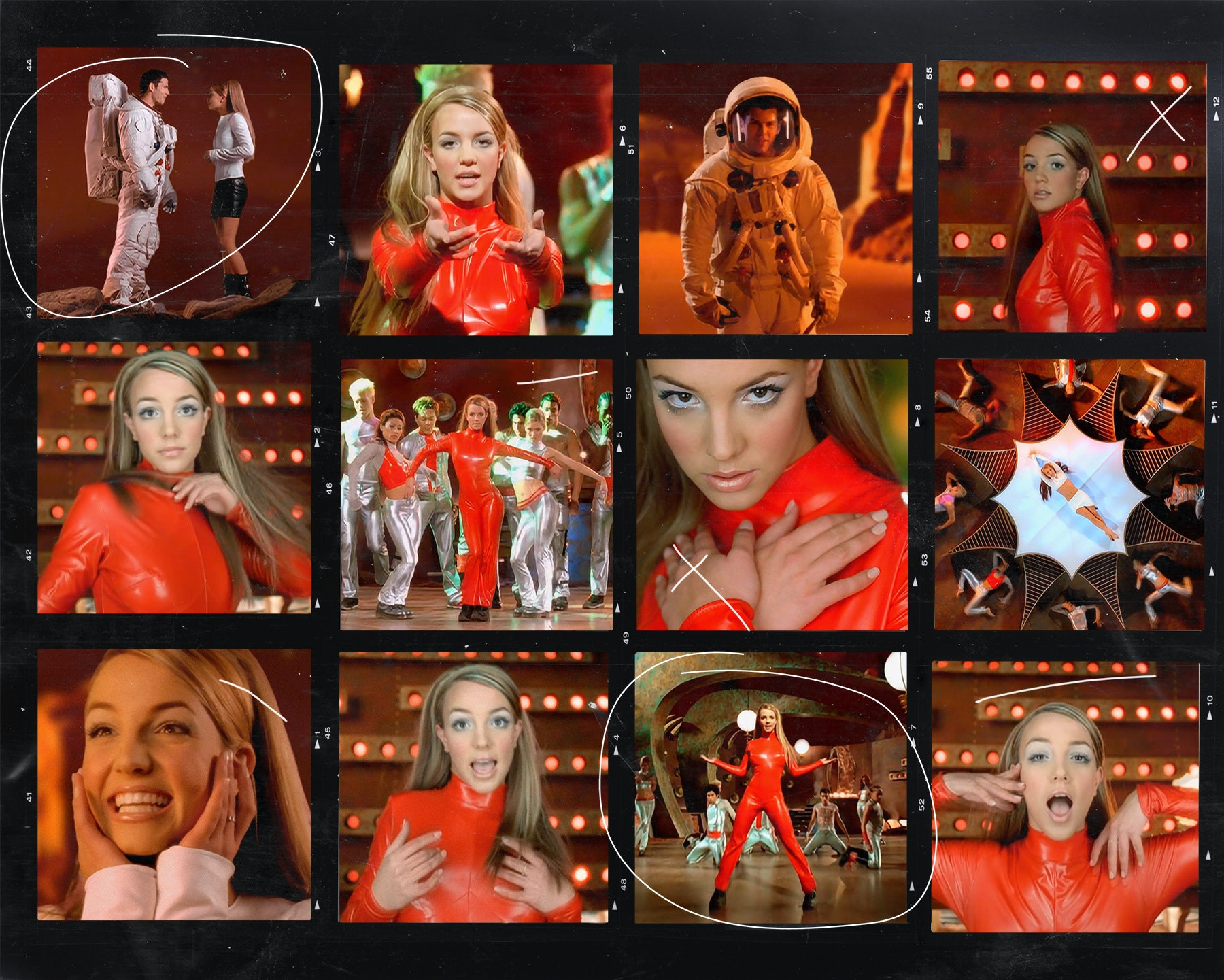 How Britney Spears Got Her Oops I Did It Again Video Outfits