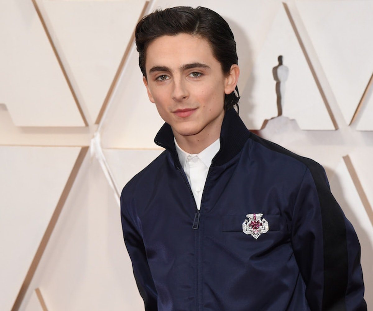 Timothée Chalamet attends the 92nd Annual Academy Awards at Hollywood and Highland on February 09, 2020 in Hollywood, California.