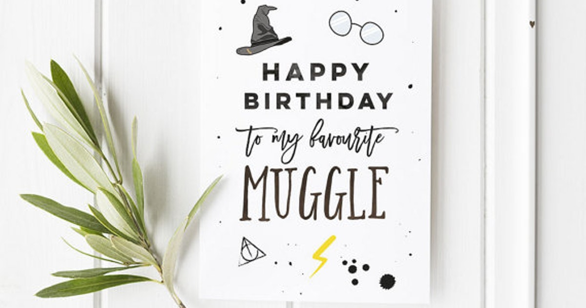 Harry Potter Christmas Card Ideas.15 Harry Potter Inspired Birthday And Greeting Cards