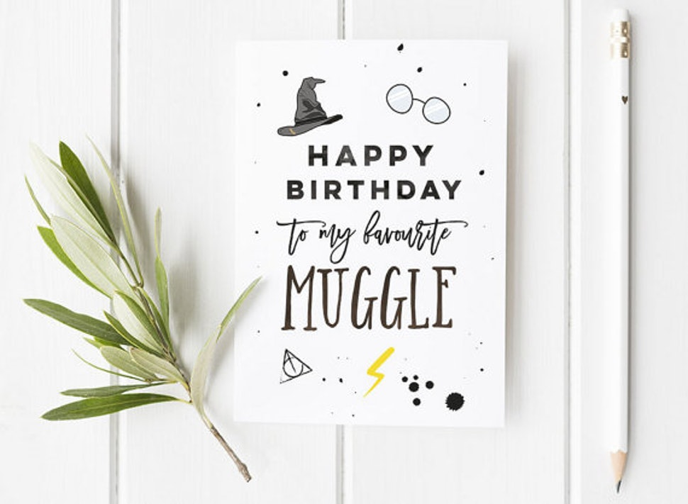 15 Harry Potter Inspired Birthday And Greeting Cards