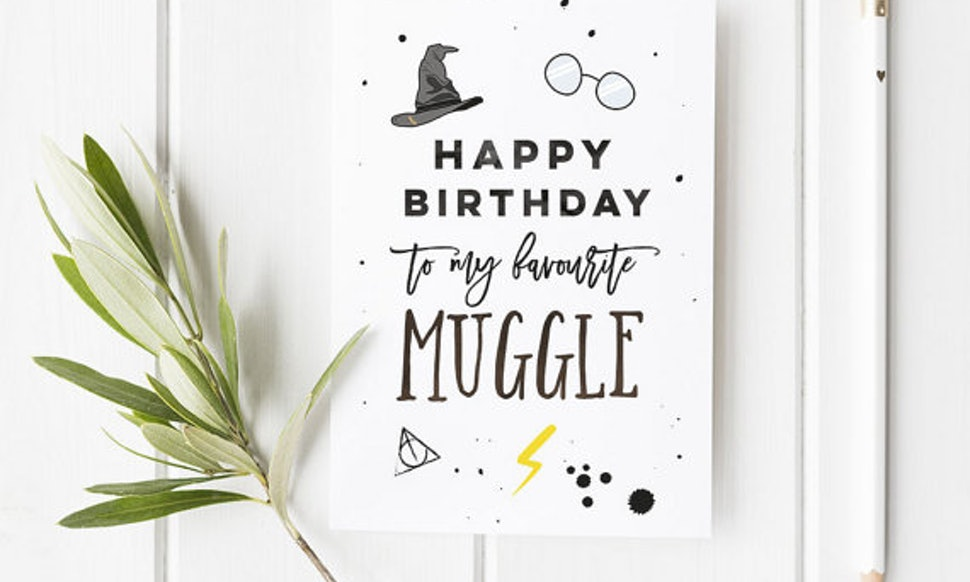15 Harry Potter Inspired Birthday And Greeting Cards Everyone Will ...