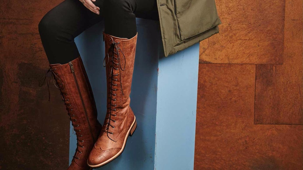 13 Wide Calf Boots For The Best Back To School Vibes Photos