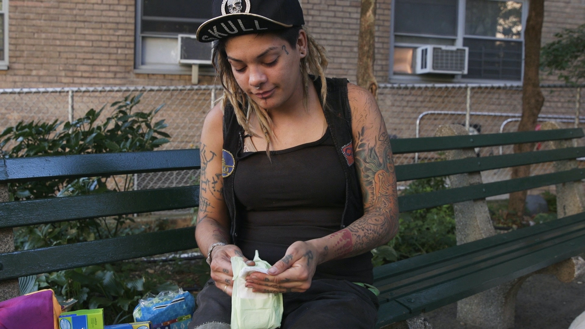 Hot homeless girl forced