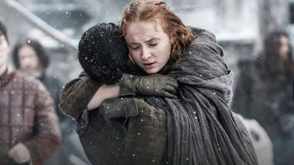 Image result for sansa and jon snow