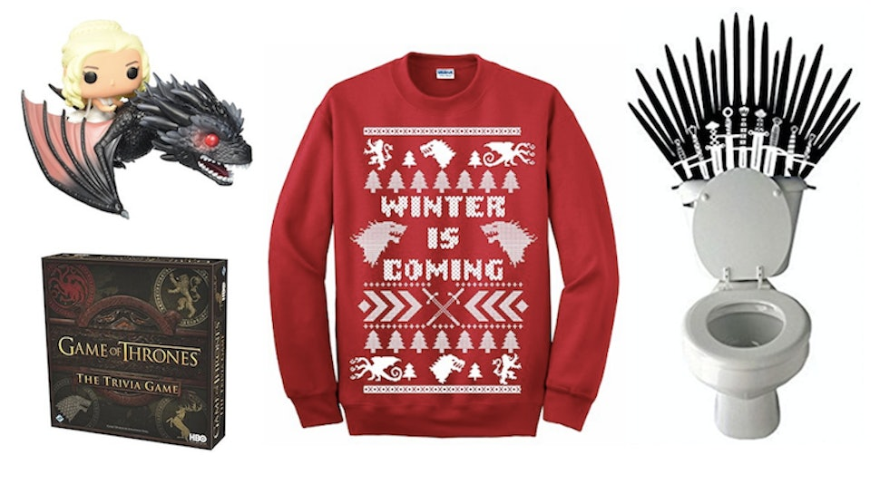 20 Awesome Game Of Thrones Items Fans Will Be Obsessed With