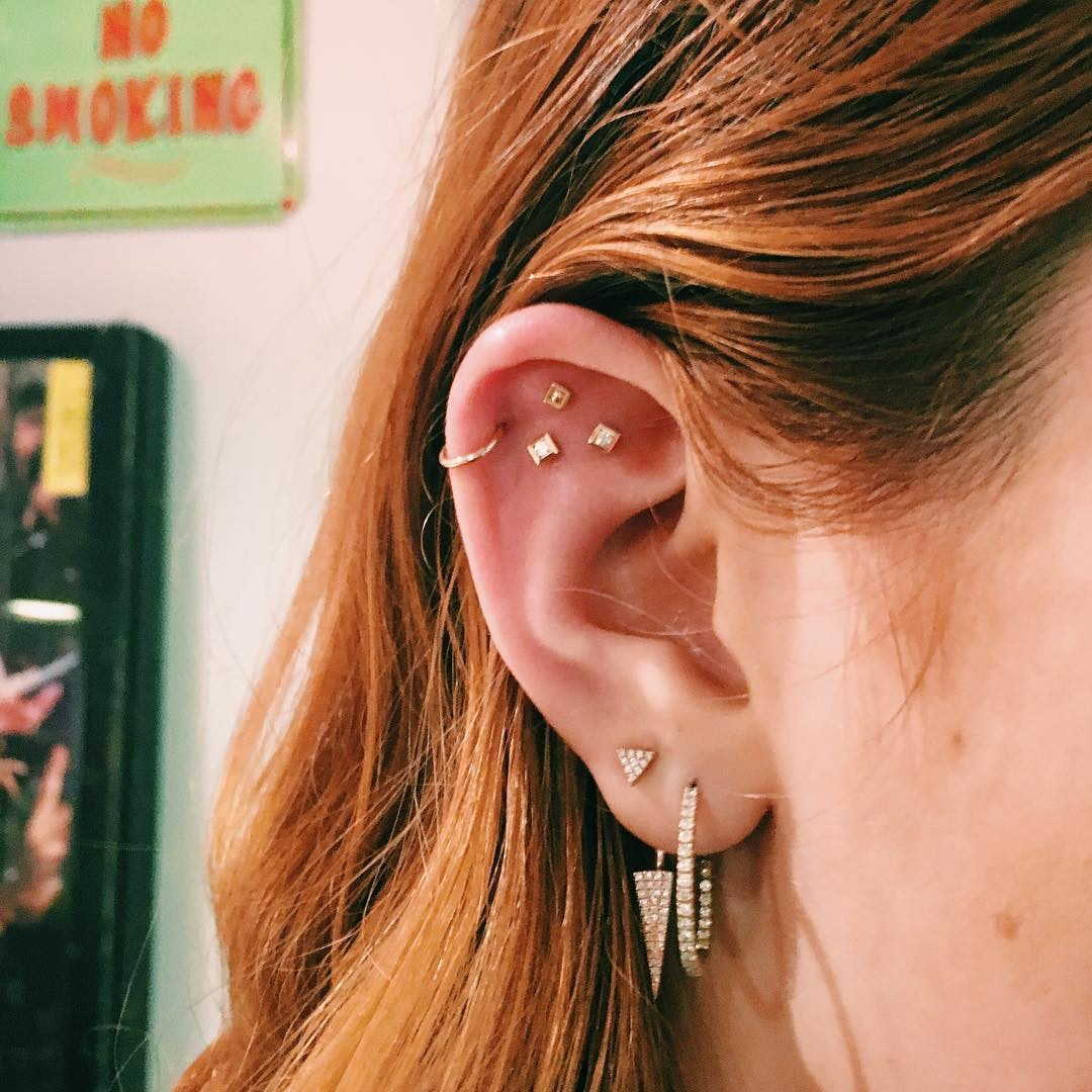 What Are Constellation Piercings This New Earring Trend Will Have