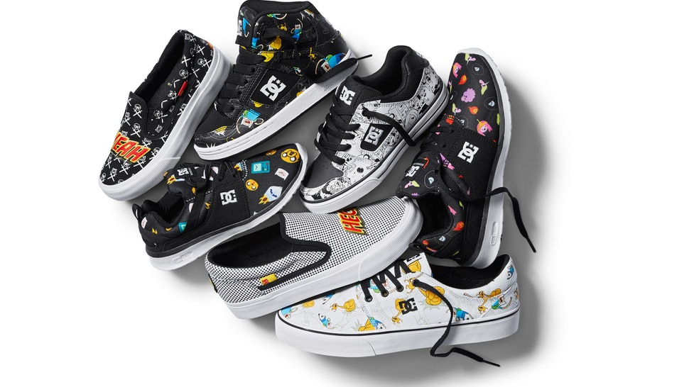 0cb7702189 What s In The DC Shoes x Adventure Time Collection  Get Ready To Literally  Step Into Jake   Finn s Magical World