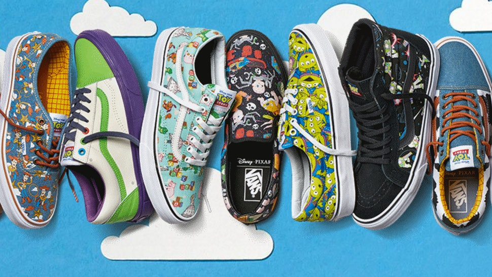 When Is Vans X Toy Story Coming Out The Collection Is A Disney
