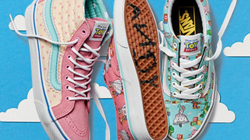 What S In The Vans X Toy Story Collection The Disney Pixar