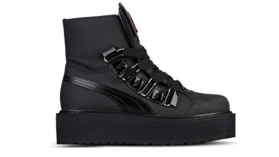 8f5873cb24345c Where To Buy The Rihanna Puma Fenty Sneaker Boot In Black Because This Shoe  Is A Winter Must Have — PHOTO