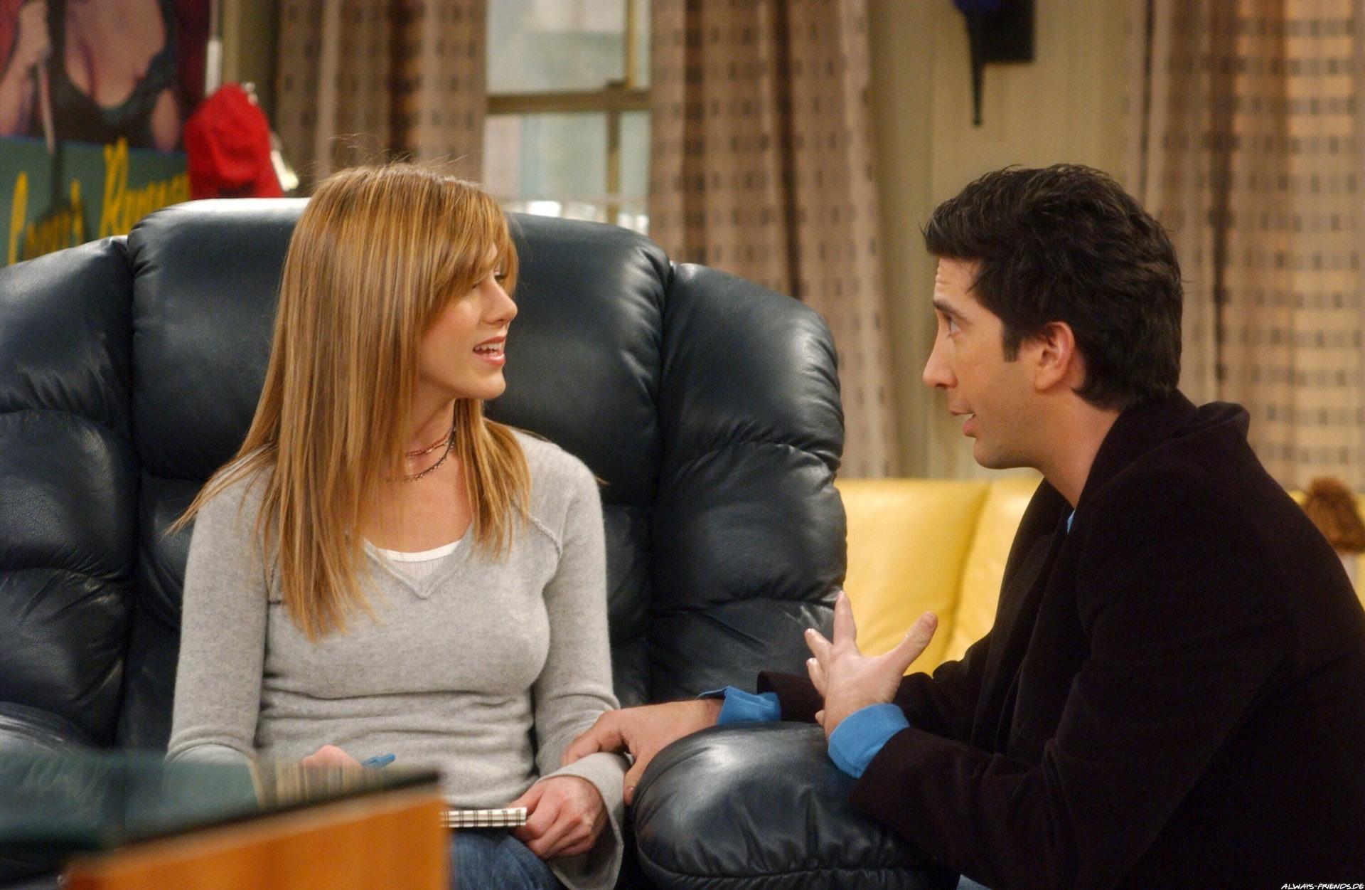 Rachel dating Russ