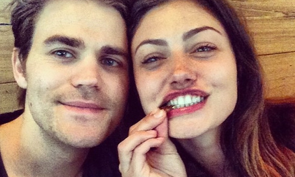 How did paul wesley phoebe tonkin meet the vampire diaries how did paul wesley phoebe tonkin meet the vampire diaries makes love connections happen m4hsunfo