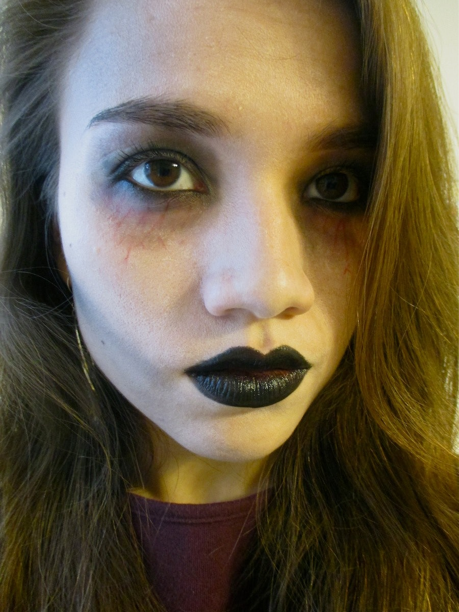 Easy zombie makeup that you can do with products you already own easy zombie makeup that you can do with products you already own braaaaaiiinnnss sold seperately solutioingenieria Gallery