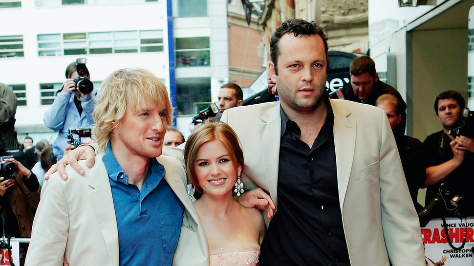 The Wedding Crashers.The Wedding Crashers Sequel Might Be A Thing Isla Fisher Is