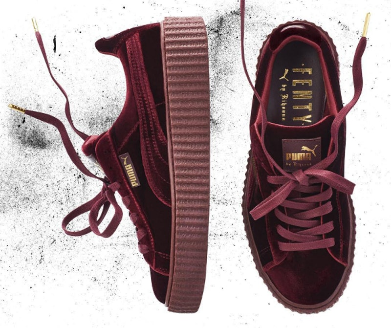 How Much Are The Rihanna Velvet Puma Fenty Creepers? Here's What ...