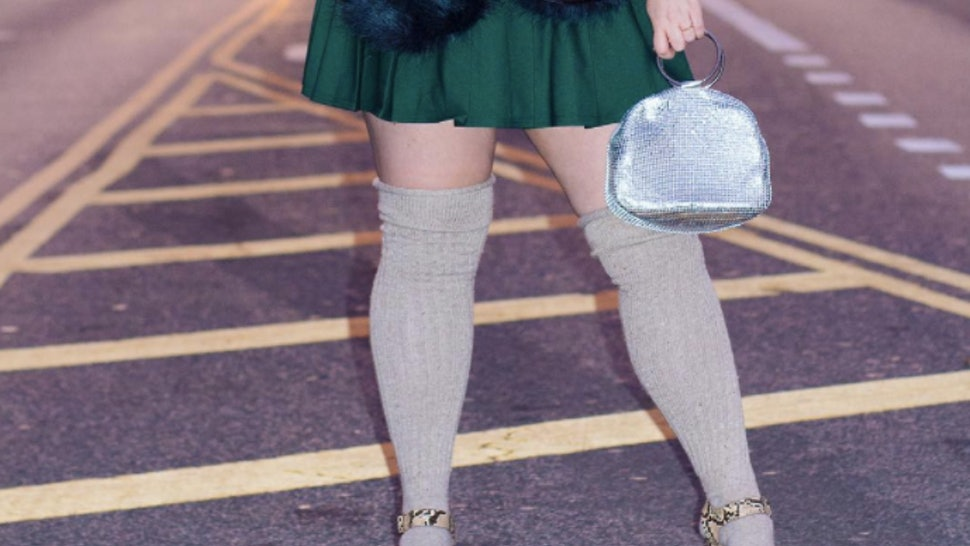171109a98a2 Where To Buy Plus Size Knee High Socks   Stockings To Channel Your Inner  Blair Waldorf — PHOTOS