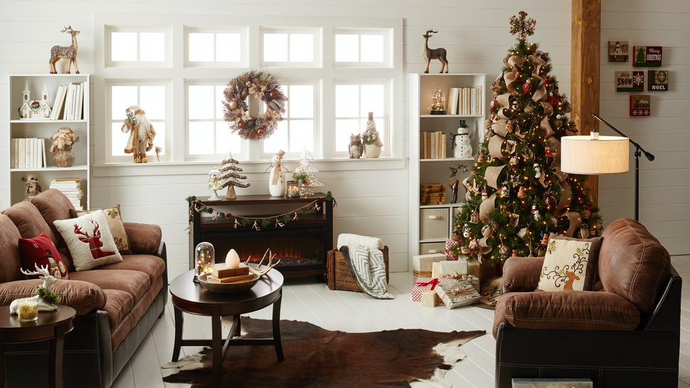 Holiday Decor That Will Transform Your Living Room Into A ...