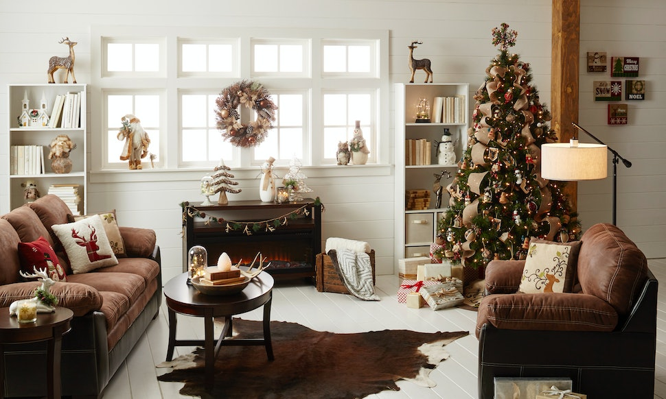 Holiday Decor That Will Transform Your Living Room Into A Cozy ...